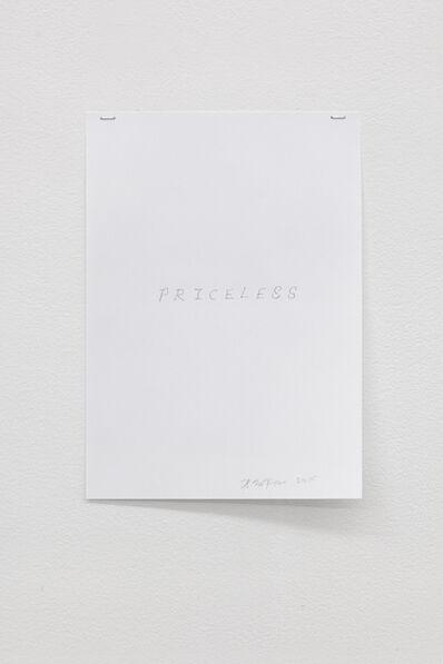Hreinn Fridfinnsson, 'Priceless', 2015
