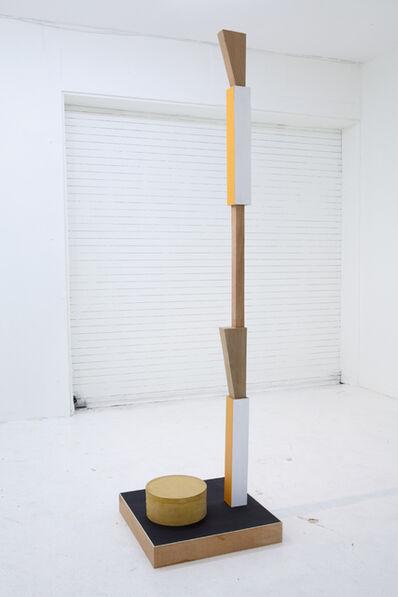 Ohad Meromi, 'Grave Digger #3 (Column & box)', 2012