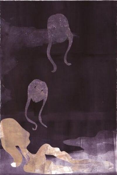 Leiko Ikemura, 'Ensayos de la sombra 2', 2015