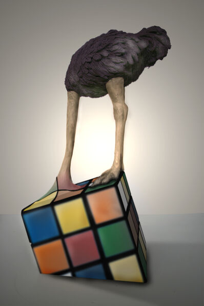 Stefano Bombardieri, 'Struzzo Rubik', 2012