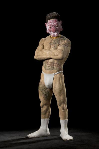 Takeshi HAGURI, '<Otokogi (Chivalry)> (Tengu (Long‐nosed goblin mask))', 2012