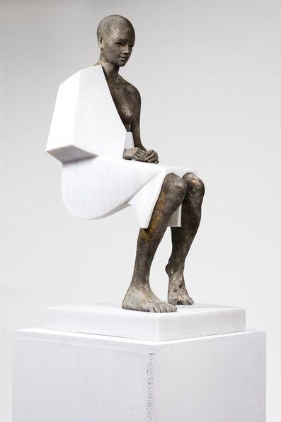 Jesús Curiá, 'Mujer Sentada II', 2019
