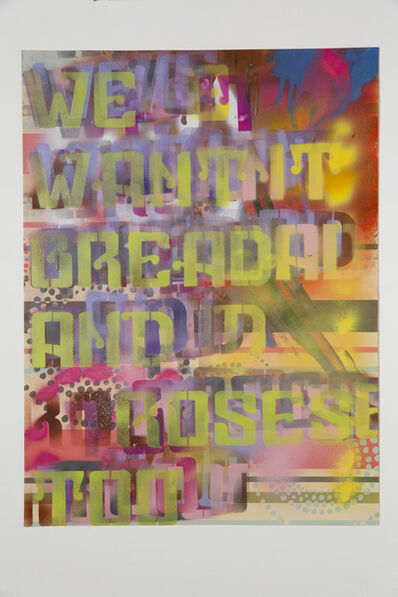 Andrea Bowers, 'Worker's Rights Poster', 2013