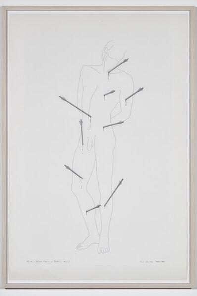 Rune Mields, 'Blut und Pfeile, Bellini', 1997