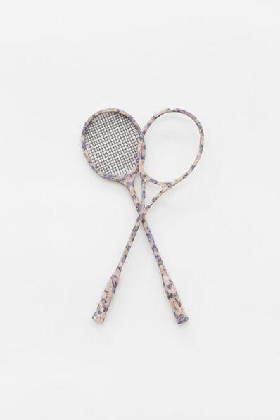 Meschac Gaba, 'The Game - Raquette badminton', 2012