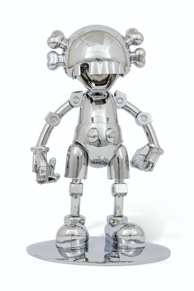 KAWS, 'No Future Companion (Hajime Sorayama Version, Silver Chrome)', 2008