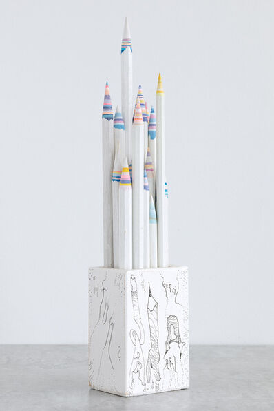 Mary Bauermeister, 'Pencil Pencelle (20/2015)', 2015