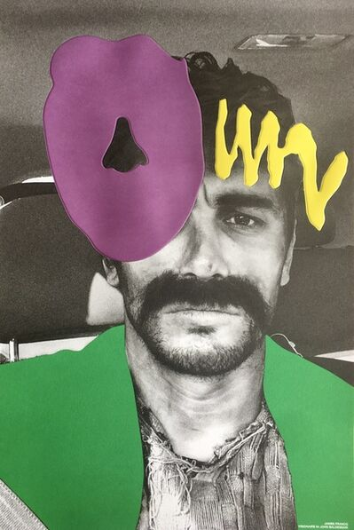 John Baldessari, 'James Franco', 2018