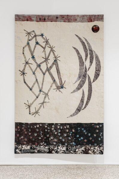 Kiki Smith, 'Visitors (stars, multiple crescent moons)', 2014