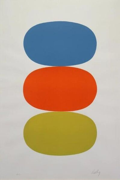 Ellsworth Kelly, 'Blue & Orange & Green', 1964-1965