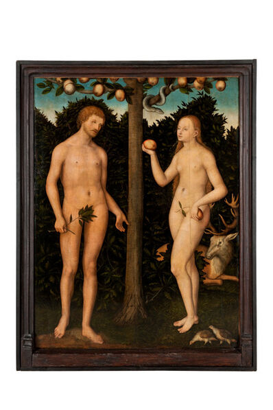 Lucas Cranach the Younger, 'Adam et Eve'