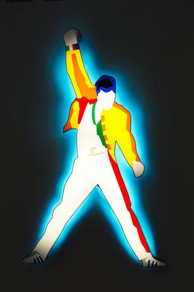 Marco Lodola, 'Freddie Mercury', 2018