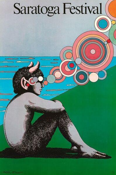 Milton Glaser, 'Milton Glaser Saratoga Festival poster (Milton Glaser posters)', 1980