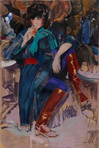Paulina Olowska, 'L'introvertie', 2012