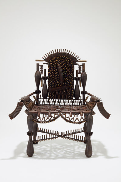 Gonçalo Mabunda, 'The Throne of Beyond', 2019