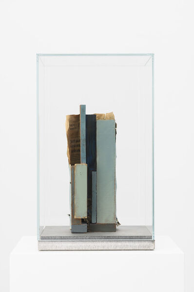 Mark Manders, 'Composition with Blue Verticals', 2015