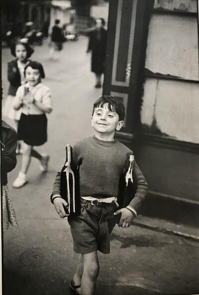 Henri Cartier-Bresson, 'Rue Mouffetard, Paris, 1954', ca. 1954