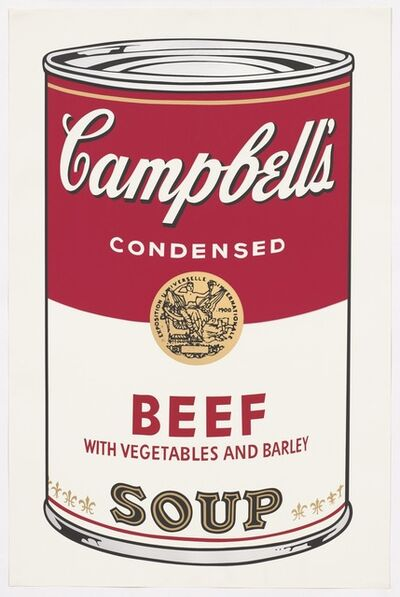 Andy Warhol, ' Beef Soup', 1968