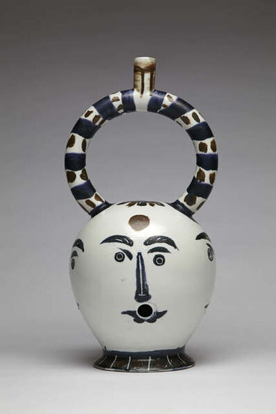 Guy Overfelt, 'Aztec Bong with Four Faces (After Picasso'