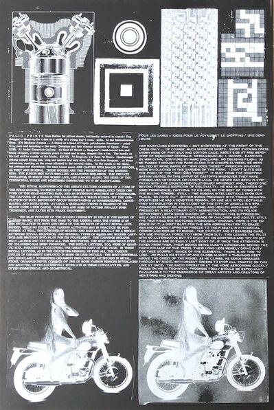 Eduardo Paolozzi, 'The Ritual Mainstring of the Area's Culture', 1965-1970