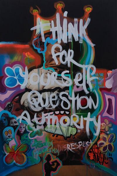 Pierre Fudarylí, 'Question Authority', 2020