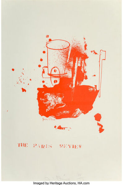 Jim Dine, 'The Paris Review', 1965