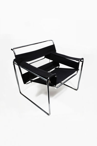 Marcel Breuer, ' Bauhaus Club Armchair B3', ca. 1927