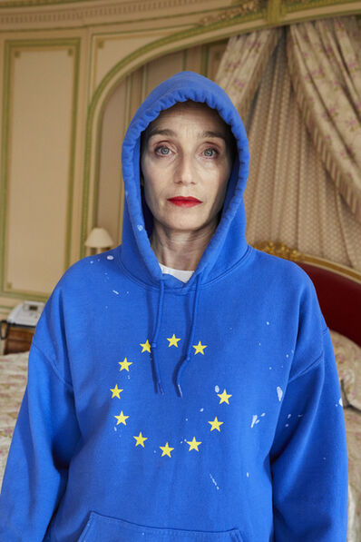 Juergen Teller, 'Kristin Scott Thomas No.1, London 2017', 2017
