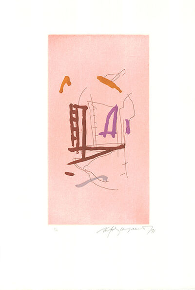 Albert Ràfols-Casamada, 'Barris extrems-4', 1991