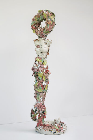 Francesca DiMattio, 'Flamingo Caryatid', 2019