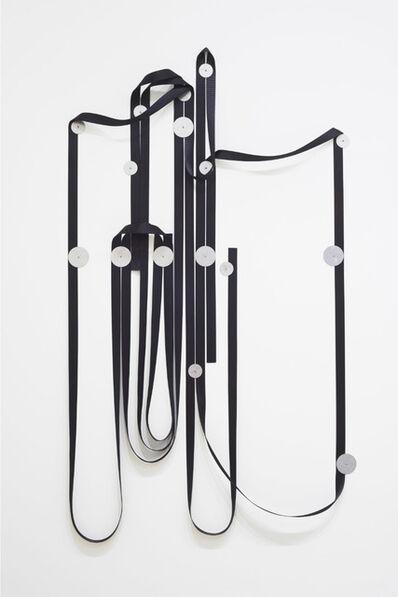 Alexandre Canonico, 'Black strap and washers', 2020