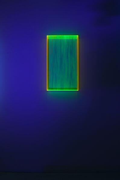 Regine Schumann, 'Colormirror rainbow glow after orange Milan', 2020