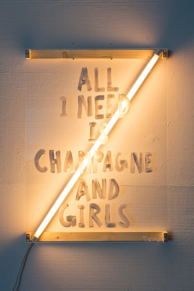 Tizian Baldinger, 'All I Need Is Champagne And Girls', 2017