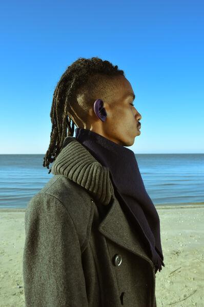 Trenity Thomas, 'Blue Right Ear', 2020