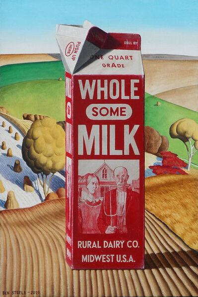 Ben Steele, 'Wholesome Milk', 2019