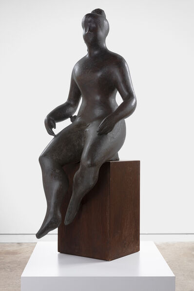 Elie Nadelman, 'Seated Woman', ca. 1926