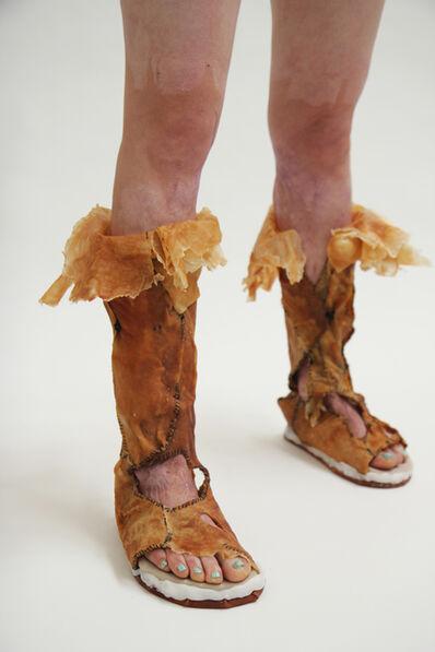 Chun-San (Sandie) Yi, 'Dermis Leather Footwear', 2011