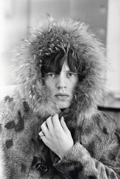 Terry O'Neill, 'Mick Jagger, Fur Parka', 1964
