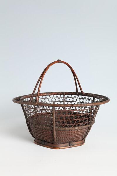 Maeda Chikubōsai I, 'Handled Free-Hanging Flower Basket in Ryū Rikyō Style (T-4208)', 1910-1919