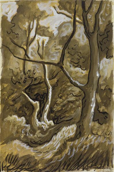 Thomas Hart Benton, 'Woods Scene'