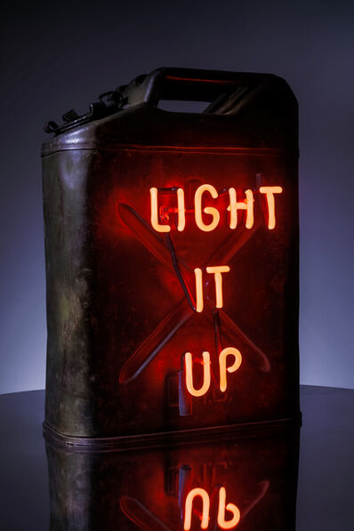 Olivia Steele, 'Light It Up (vintage military green)', 2018