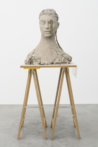 Mark Manders, 'Composition with Yellow', 2017-2018