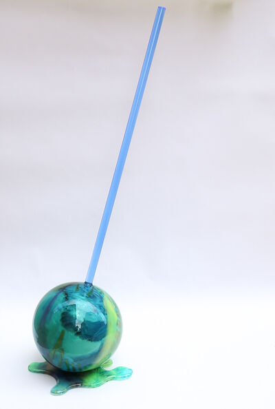 Betsy Enzensberger, 'Blue Globe Lollipop', 2019