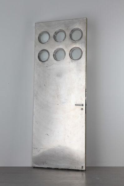 Jean Prouvé, 'Aluminum door with portholes', 1951