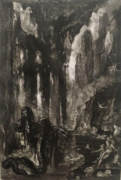 Gustave Moreau, 'La tête et la queue du Serpent, pour Les Fables de la Fontaine.', 1886