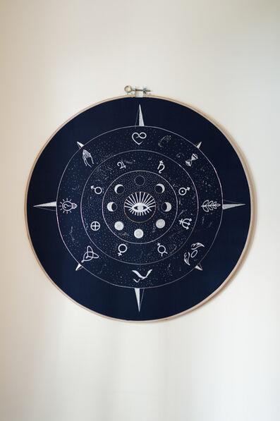 Nathaly Jung, 'La voie (x) céleste', 2017