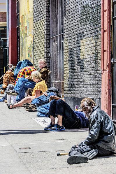 Mitchell Funk, 'Group in the Tenderloin,  San Francisco', 2019