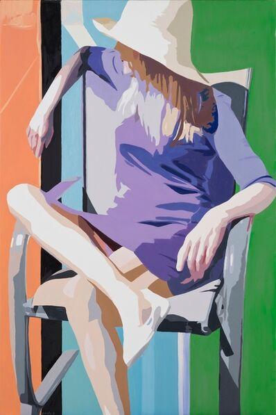 Ginnie Gardiner, 'Purple Dress'