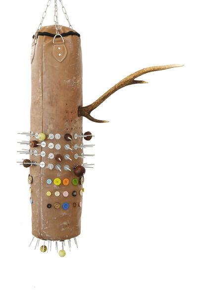 Masimba Hwati, 'Rinamanyanga Hariputirwe VI (That Which Has Horns Cannot Be Wrapped)', 2016