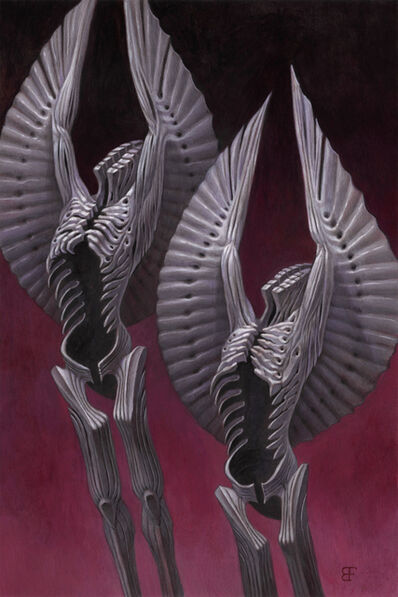 Brendon Flynn, 'Twin Black Angels', 2019
